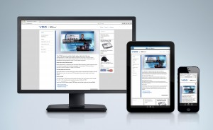 New VDO REDI-Sensor website features a responsive design that allows optimal viewing on all types of devices from smartphones to desktops.